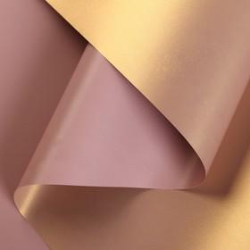 Film for flower mother of pearl Velvet, bronze, 0,5 x 10 m
