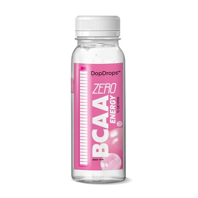 Drink DopDrops BCAA Energy ZeroCarbs, bubble gum, 240 ml.