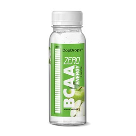 Напиток DopDrops BCAA Energy ZeroCarbs, зеленое яблоко, 240 мл.