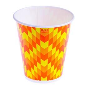 Zig-Zag glass 300 ml, for cold drinks, top diameter 90 mm