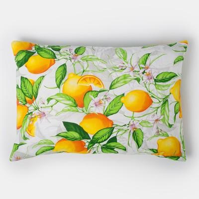 "Pillow case 50*70 Ethel ""morning Lemon"", calico, 125 gr/m2,100% cotton"