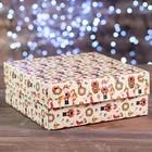"""Коробка картонная на 9 капкейков """"Щелкунчик"""", 25 х 25 х 10 см"""