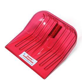 Ковш лопаты из поликарбоната, 430 × 420 мм, без планки, красный
