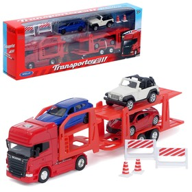 Игрушка «Автовоз», с 3 машинами