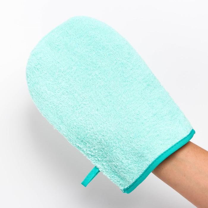 Мочалка-варежка для ванны