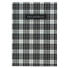 Ежедневник недатированный А5, 128 листов «Шотландка-2», твёрдая обложка, глянцевая ламинация