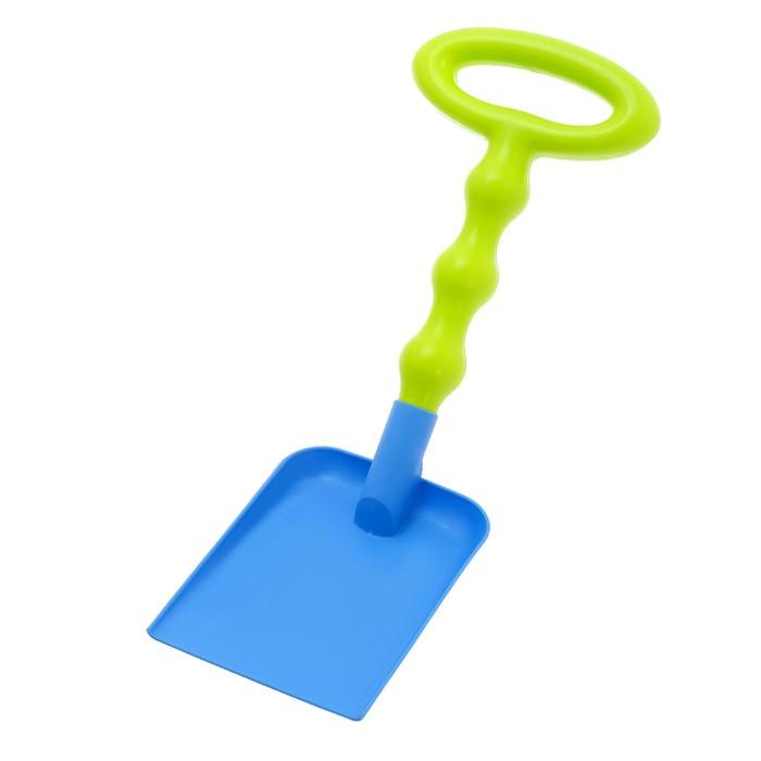 Лопатка «Яркий день», с фигурным черенком, цвета МИКС