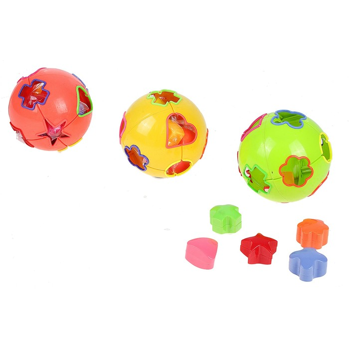 Развивающая игрушка-сортер «Шар «, цвета МИКС