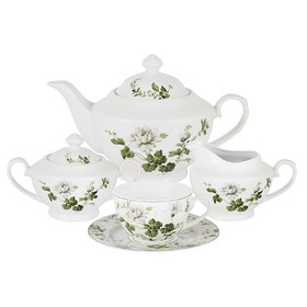 Чайный сервиз «Веста», 15 предметов, 6 персон