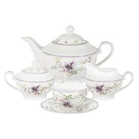 Чайный сервиз «Селена», 15 предметов, 6 персон