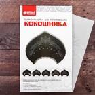 Декор для творчества термонаклейка в форме кокошника «Абстракция» - фото 412850