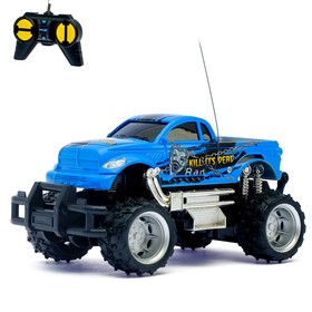 Car RC Jeep, battery, scale 1:24, MIX colors