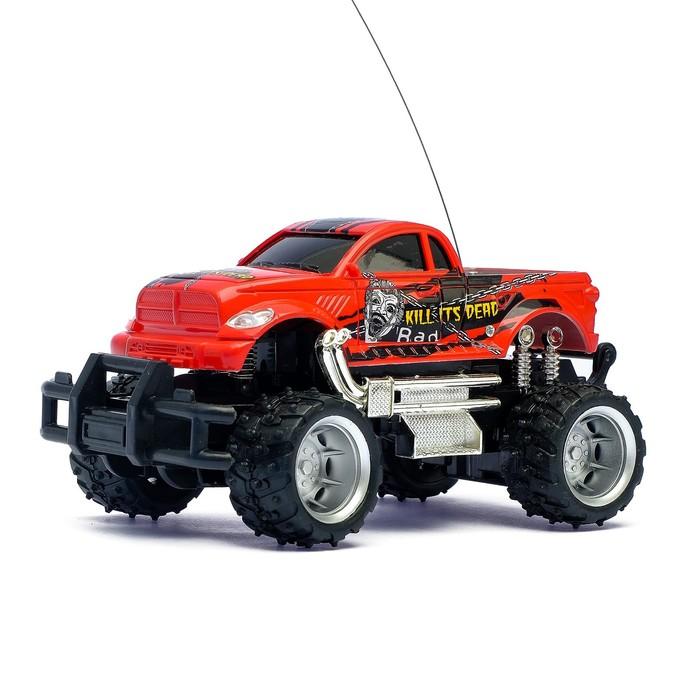 """Машина радиоуправляемая """"Джип"""", с аккумулятором, масштаб 1:24, цвета МИКС"""