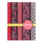 Ежедневник недатированный А6, 48 листов «Паттерн в розовых тонах», обложка мелованный картон, блок офсет 65 г/м²