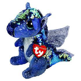 Мягкая игрушка «Дракон Kate», в пайетках, 15 см