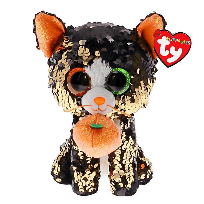 Мягкая игрушка «Кошка Jinx», в пайетках, 15 см