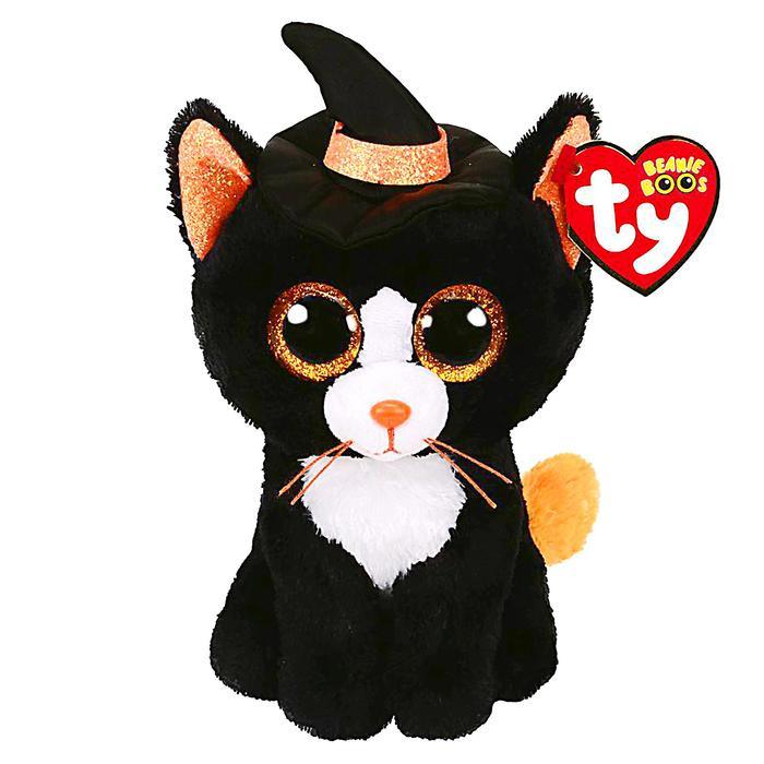 Мягкая игрушка «Кошка Witchie Halloween», 15 см