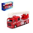 Машина металлическая «Пожарная», световые и звуковые эффекты, масштаб 1:48, МИКС - фото 105653756