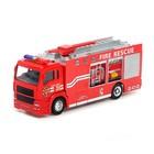 Машина металлическая «Пожарная», световые и звуковые эффекты, масштаб 1:48, МИКС - фото 105653760