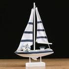 Yacht MA04006-3A, 21х7х32см, white
