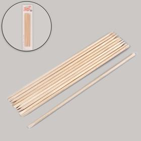 Orange wand set 10pcs 18(±0,5)cm blister QF