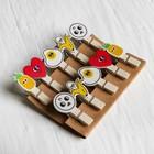 Набор декоративных прищепок «Набор вкусняшек» набор 10 шт. - фото 419522