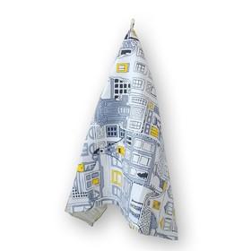 Набор полотенец, размер 50 × 80 см-2 шт, цвет микс, вафля