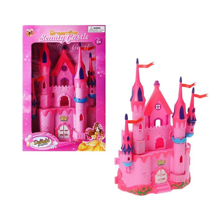 Замок для кукол, световые и звуковые эффекты