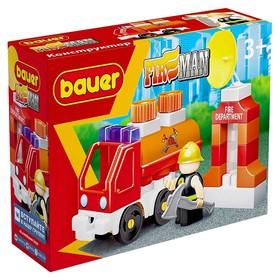 Конструктор «Пожарная машина с цистерной»