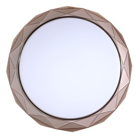 Светильник 1407PLC400 LED 48Вт 3000-6500К коричневый 40х40х20 см