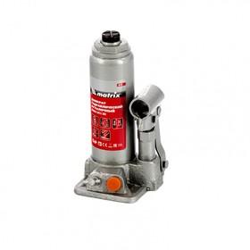 Домкрат гидравлический MATRIX 50761, бутылочный, 2 т, высота подъема 181-345 мм Ош