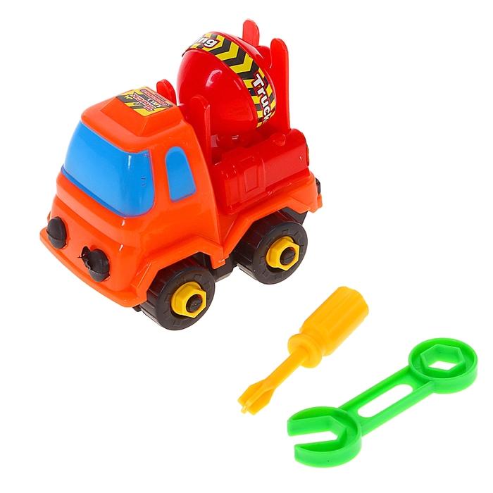 Конструктор для малышей «Строительная машина», 15 деталей, МИКС