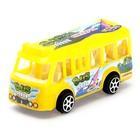 Автобус инерционный, цвета МИКС - фото 106528388