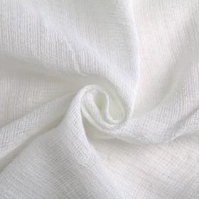 Вафельное полотно, ширина 40 см, длина 60 м, 110г/м2, 100% хлопок, цвет белый