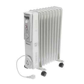 Радиатор масляный Sakura SA-0349 Light, 2000 Вт, 9 секций, светло-серый
