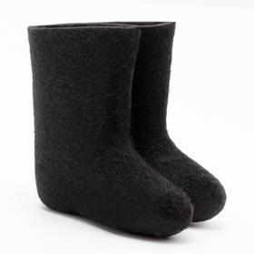 Валенки детские, цвет чёрный, размер 28 (16 см)
