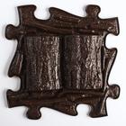 Массажный коврик - пазл, 1 модуль «Бревна» большой, цвет Микс - фото 1868224