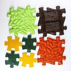 Детский массажный коврик Лесной, 12 модулей, цвет Микс - фото 105574839