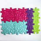 Детский массажный коврик Морской, 14 модулей, цвет Микс - фото 105574846