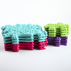 Детский массажный коврик Морской, 14 модулей, цвет Микс - фото 105574847