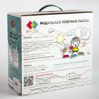 Детский массажный коврик Морской, 14 модулей, цвет Микс - фото 105574850