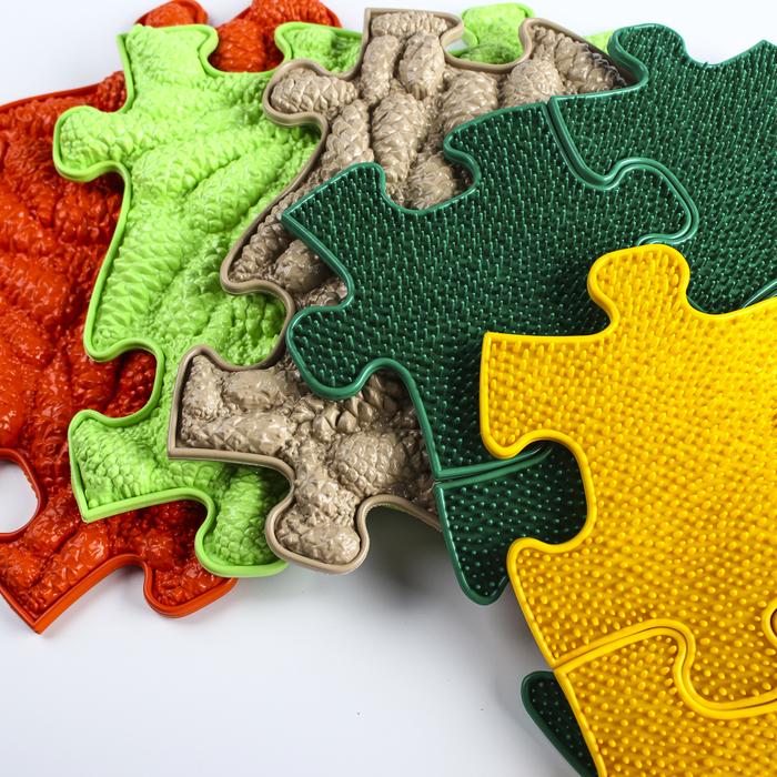 Детский массажный коврик «Тропинка», 17 модулей, цвет Микс