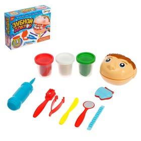 Набор для игры с пластилином «Зубной доктор»