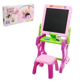 Столик-доска для рисования «Учимся рисовать», со стульчиком