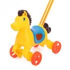 Каталка на палке «Лошадка», цвета МИКС