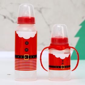 """Набор бутылочек для кормления """"Дед Мороз"""" 150 и 250 мл"""
