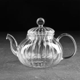 Чайник заварочный «Диана. Доляна», со стеклянным ситом, 600 мл