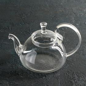 {{photo.Alt || photo.Description || 'Чайник заварочный «Элегия», 600 мл, 19×13×12,5 см, с металлическим ситом'}}