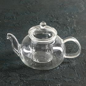{{photo.Alt || photo.Description || 'Чайник заварочный «Валенсия. Доляна», со стеклянным ситом, 400 мл'}}