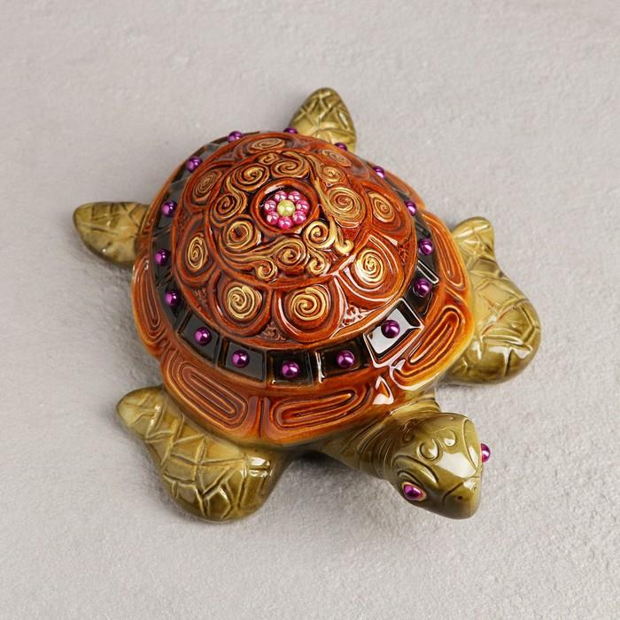 """Статуэтка """"Черепаха"""", 25 см × 21 см × 9 см, микс"""
